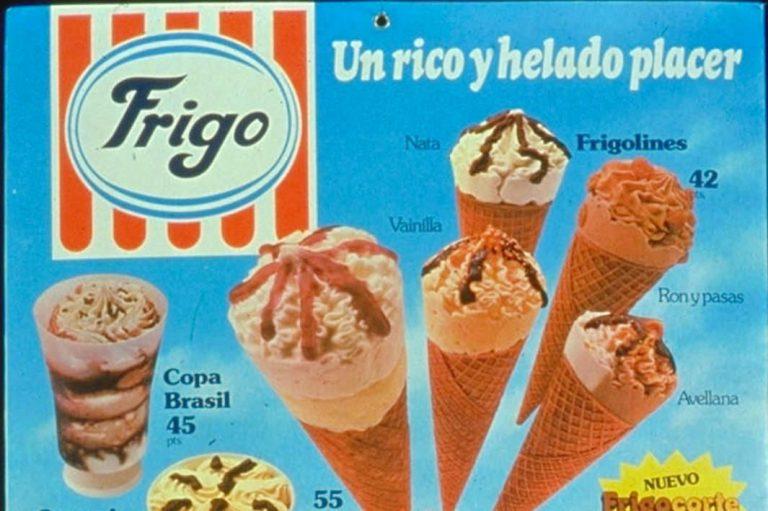 Camy, Miko y Frigo: los helados de España
