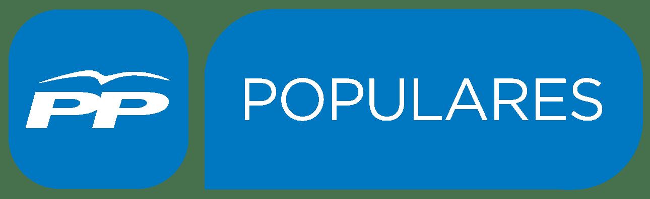 LOGO PP PARTIDO POPULAR CON MARCA POPULARES 2015