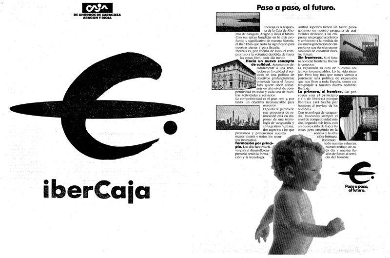1988: Cambio de marca de CAZAR a IberCaja